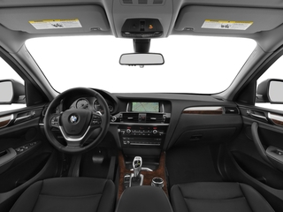 Interior of car