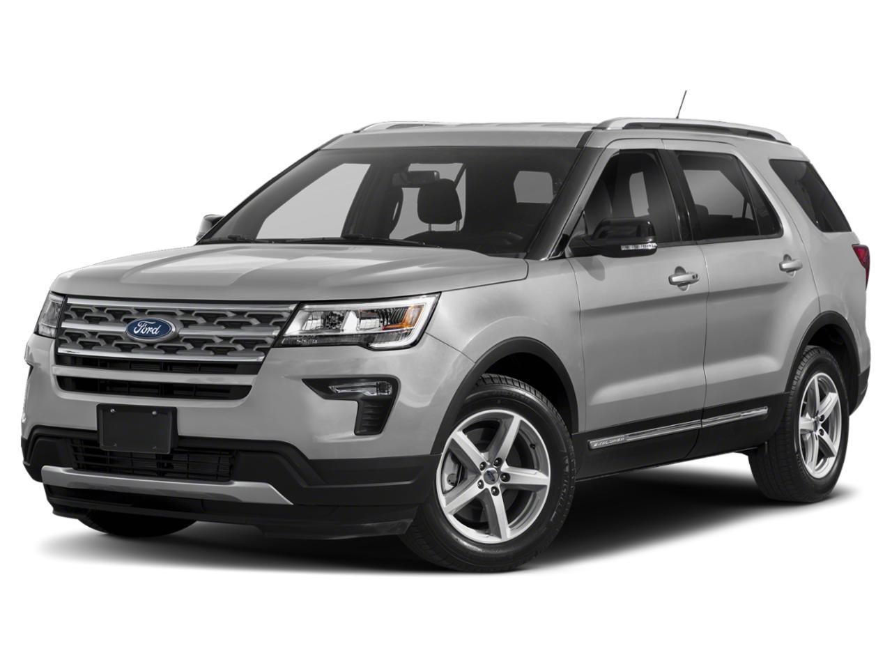 Ingot Silver Metallic 2018 Ford Explorer LIMITED SUV Winston-Salem NC