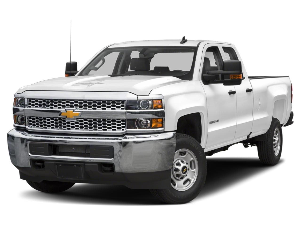 Summit White 2019 Chevrolet Silverado 2500HD WORK TRUCK Extended Cab Pickup Wake Forest NC