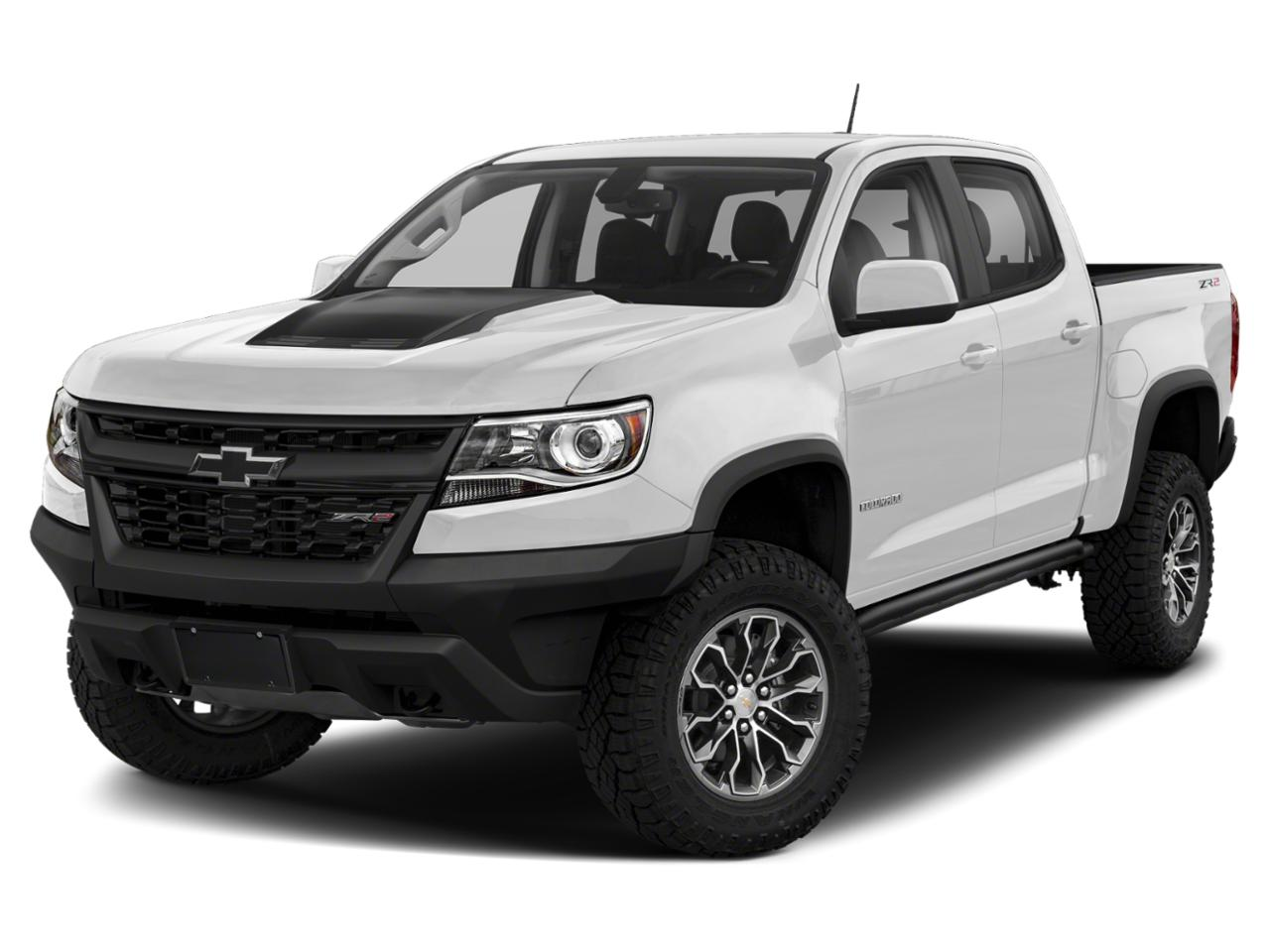 Summit White 2019 Chevrolet Colorado ZR2 Crew Cab Pickup Wake Forest NC
