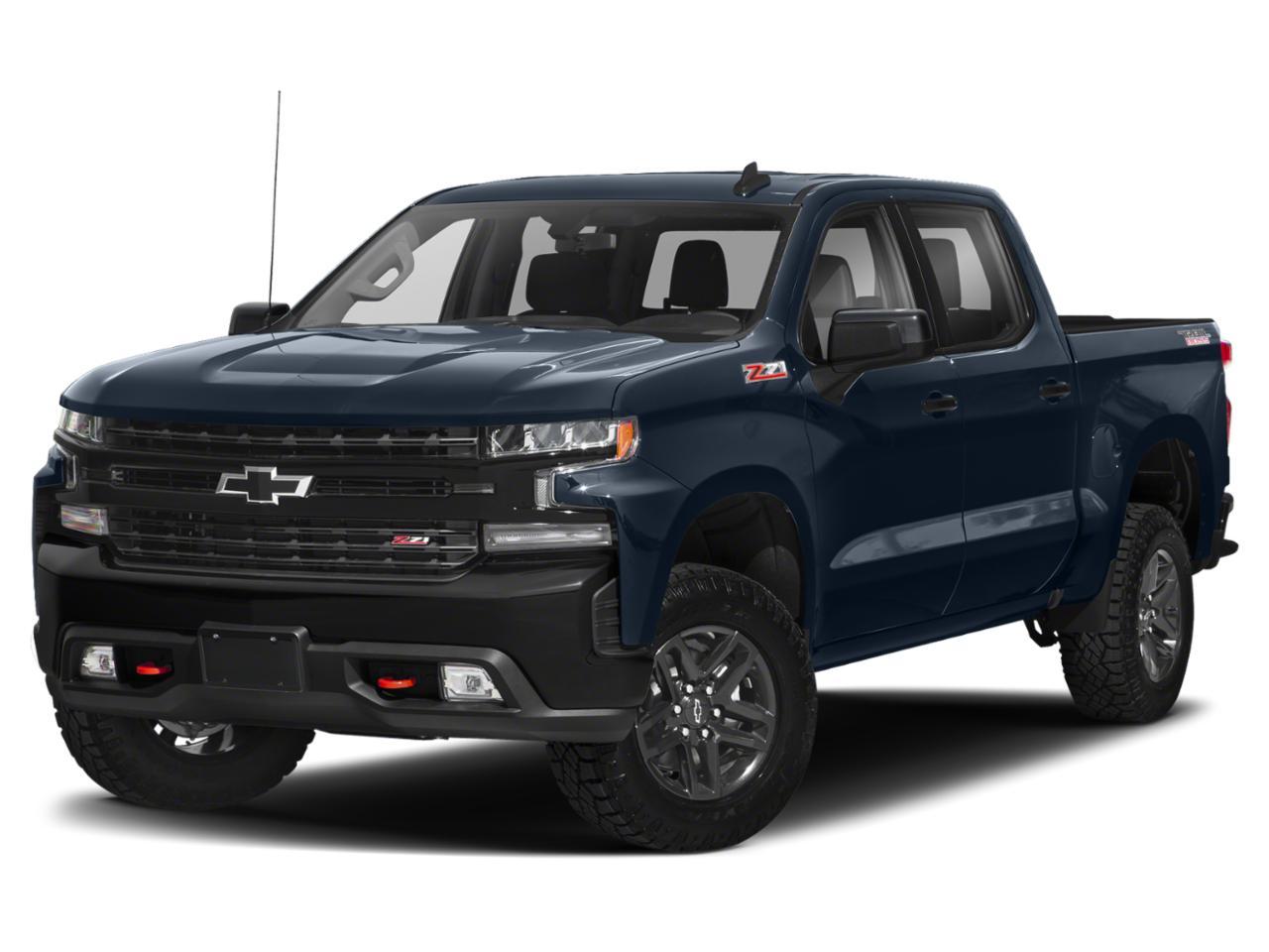 Sky Blue Metallic 2019 Chevrolet Silverado 1500 LT TRAIL BOSS Crew Cab Pickup Wake Forest NC