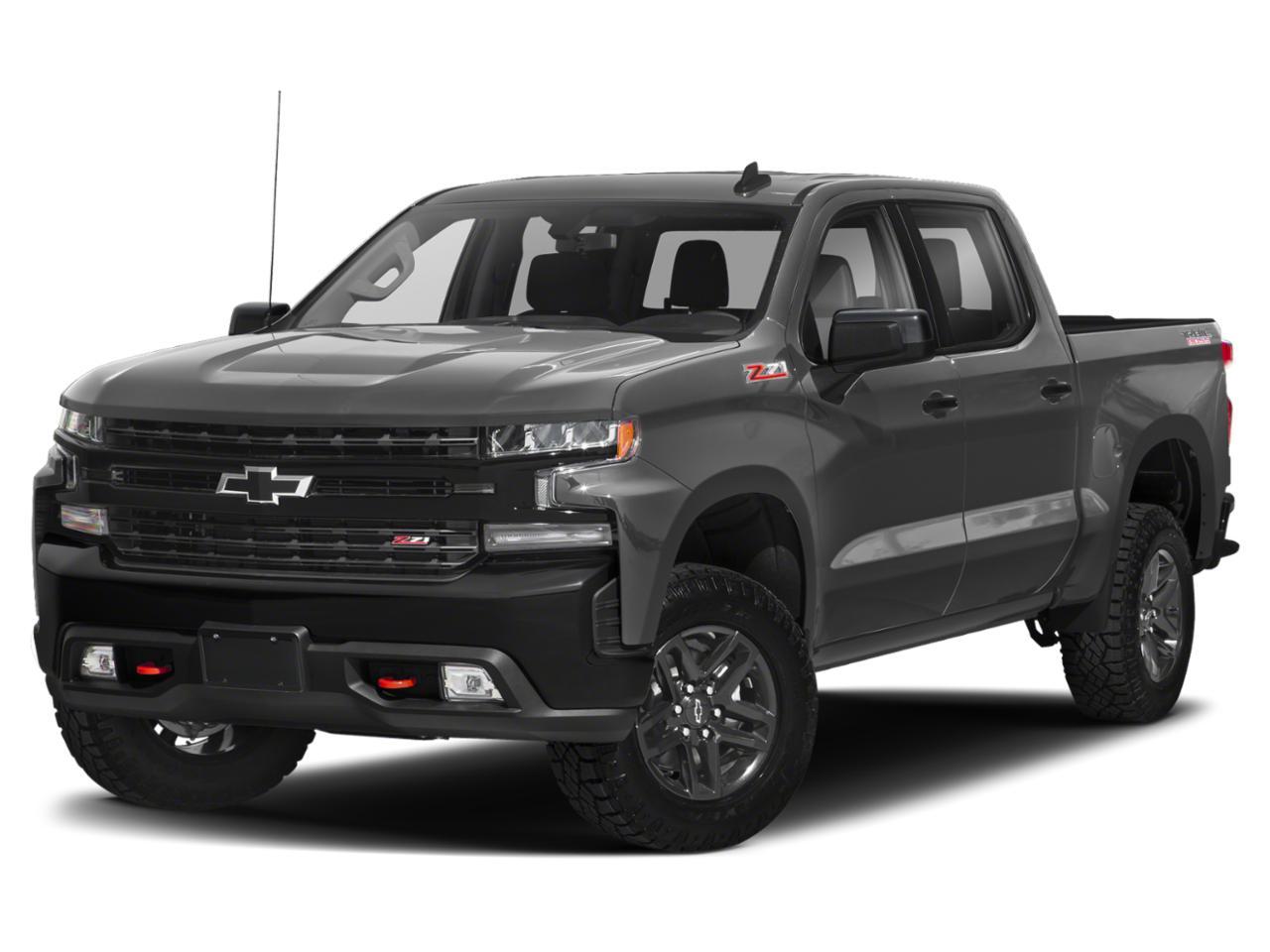 satin steel metallic 2019 Chevrolet Silverado 1500 RST Crew Cab Pickup Lexington NC