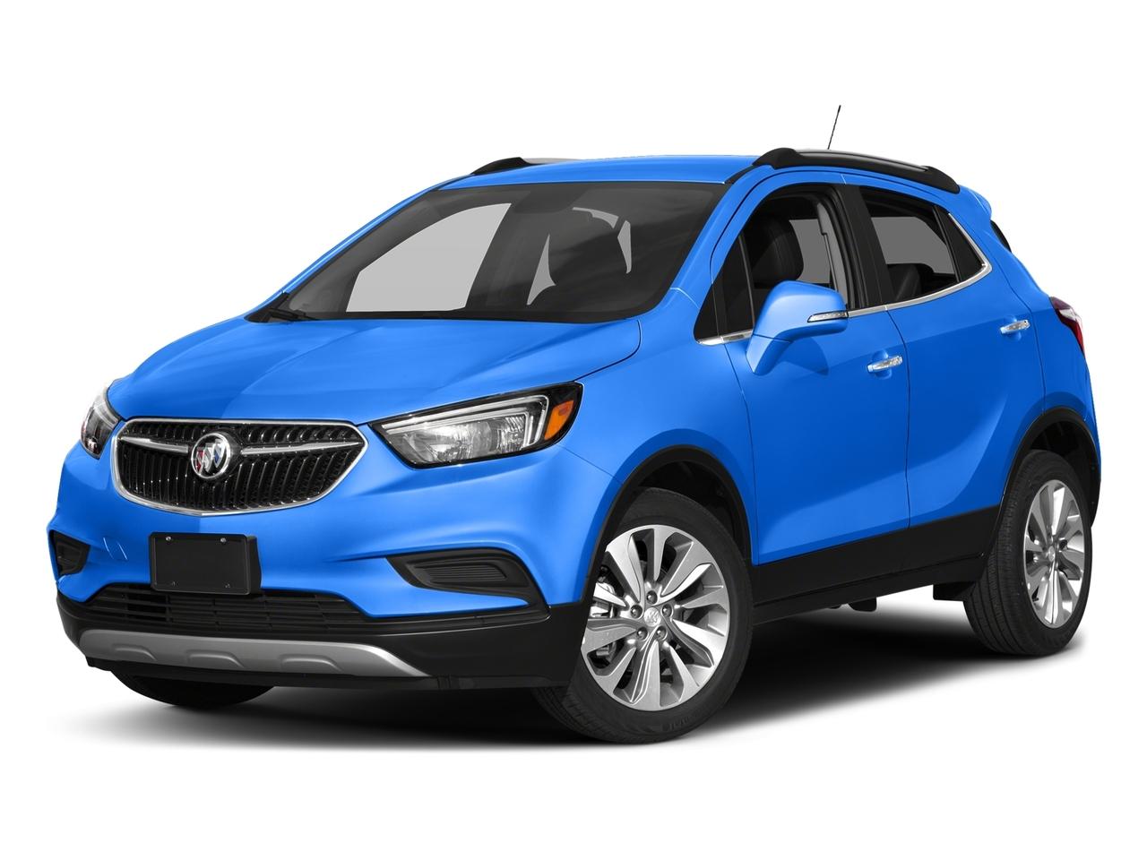 Coastal Blue Metallic 2017 Buick Encore PREFERRED SUV Lexington NC