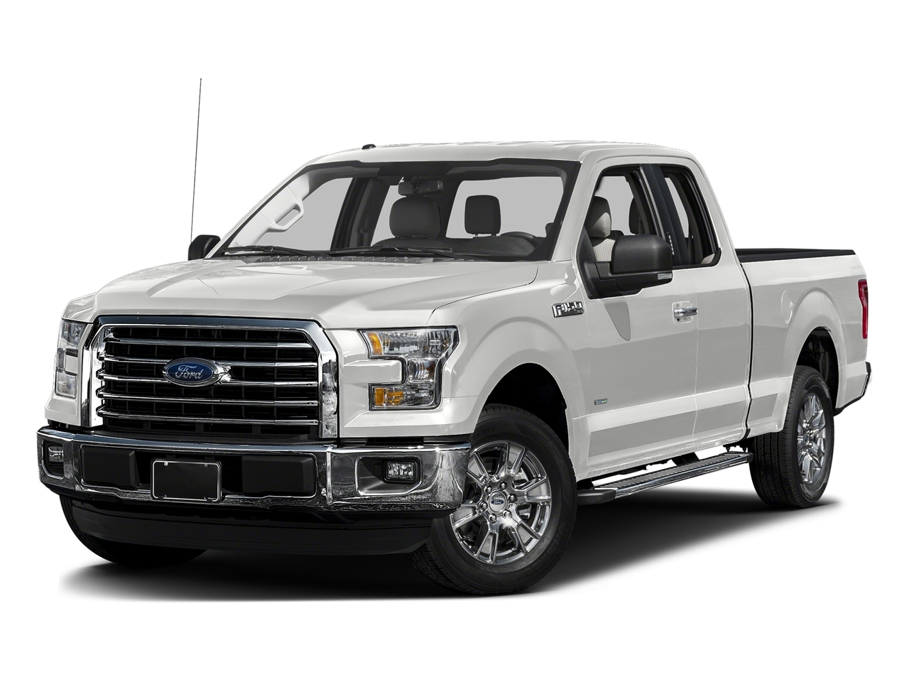 White 2016 Ford F-150 XLT Extended Cab Pickup Hialeah FL