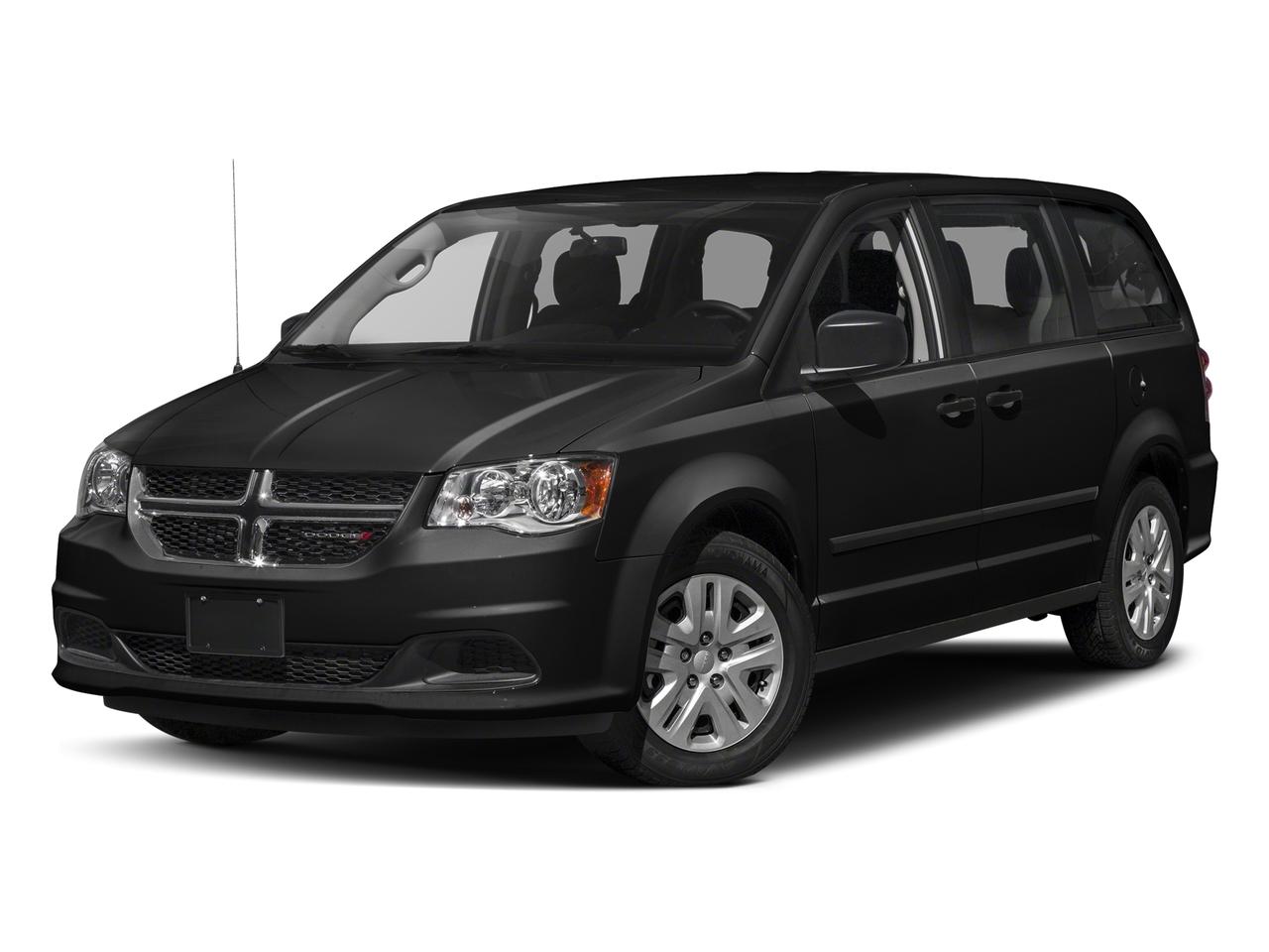 Onyx Black 2018 Dodge Grand Caravan SXT 4D Passenger Van Raleigh NC