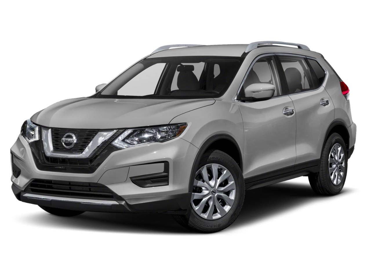 Brilliant Silver Metallic 2019 Nissan Rogue S SUV Raleigh NC