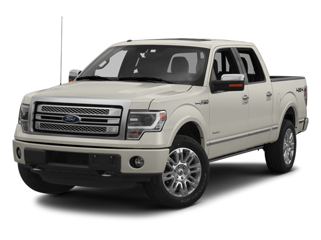 White 2013 Ford F-150 PLATINUM 4x4 Platinum 4dr SuperCrew Styleside 6.5 ft. SB New Bern NC