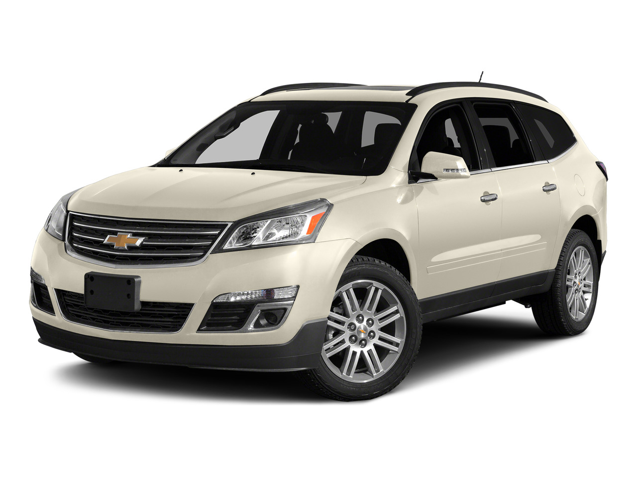 White Diamond Clearcoat 2015 Chevrolet Traverse 2LT SUV Wake Forest NC