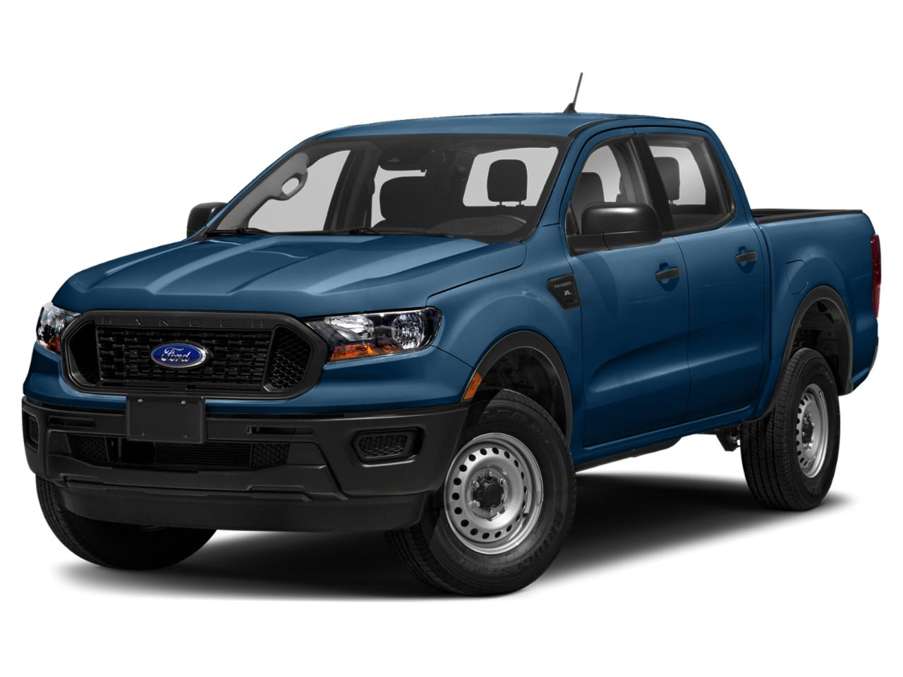 Lightning Blue Metallic 2019 Ford Ranger XL Crew Cab Pickup Durham NC