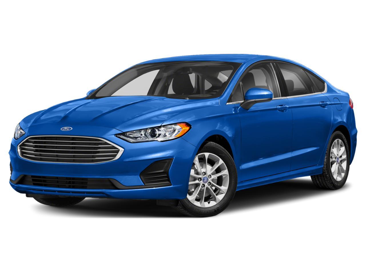 Velocity Blue Metallic 2019 Ford Fusion SEL 4D Sedan Raleigh NC