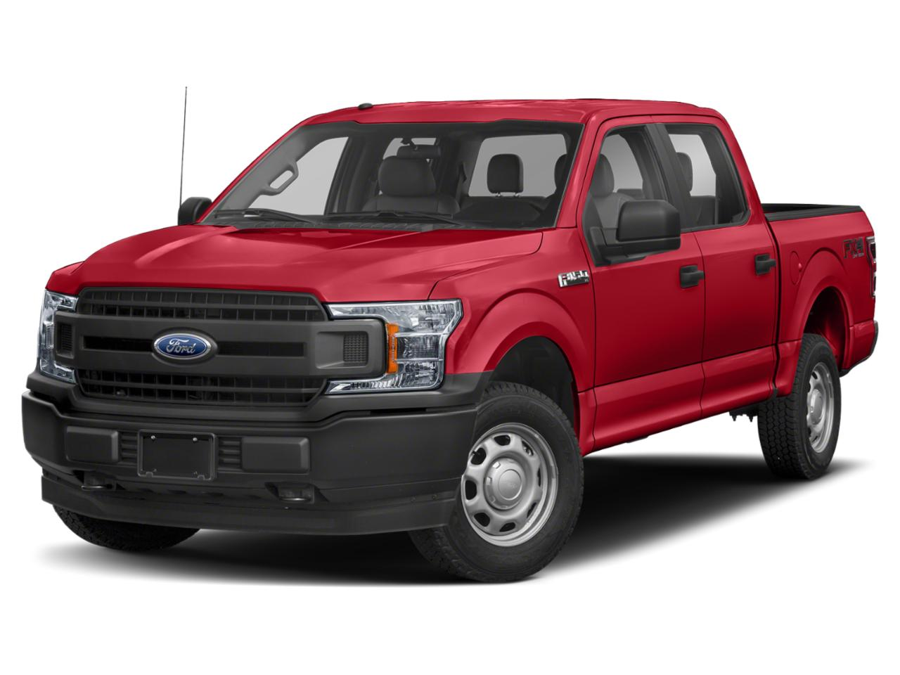 Race Red 2019 Ford F-150 XL Crew Cab Pickup Durham NC