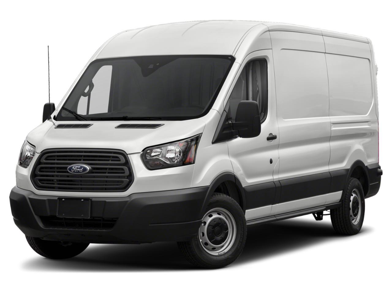 Oxford White 2019 Ford Transit-150 MEDIUM ROOF CARGO 3D Cargo Van Winston-Salem NC