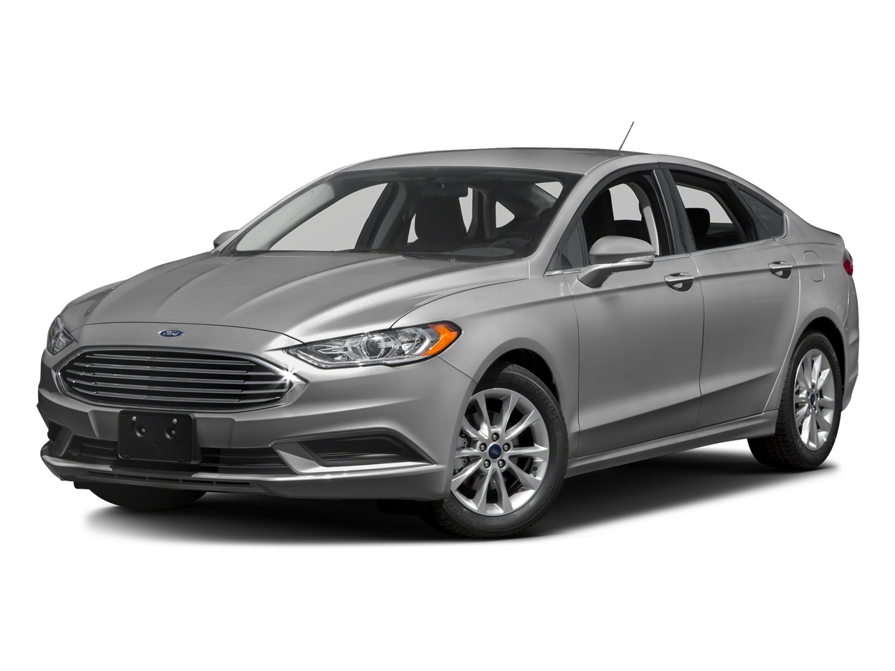 Ingot Silver 2017 Ford Fusion SE 4dr Car Mooresville NC