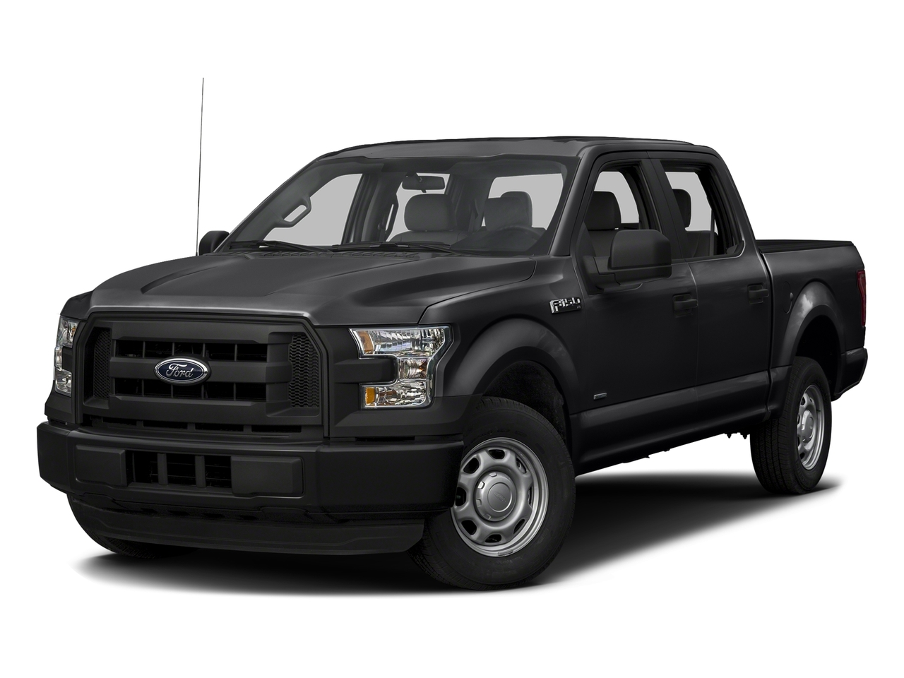 Black 2017 Ford F-150  Crew Cab Pickup Mooresville NC