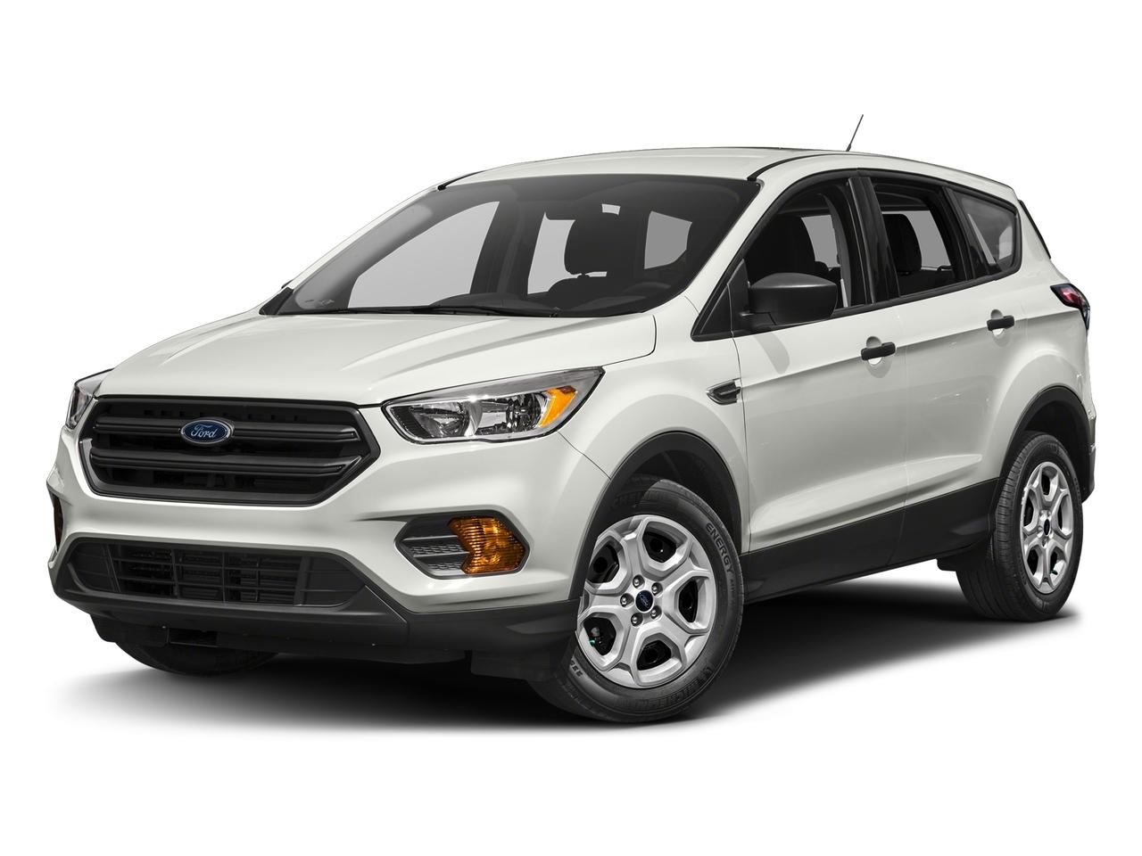 White 2017 Ford Escape SE SUV Durham NC