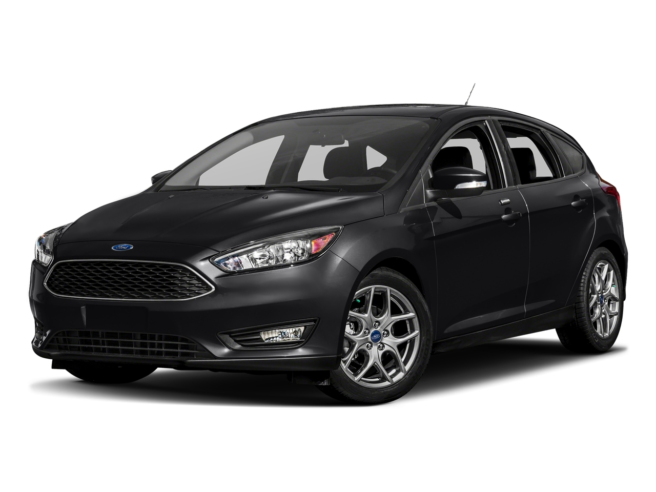 Black 2017 Ford Focus SE Hatchback Raleigh NC