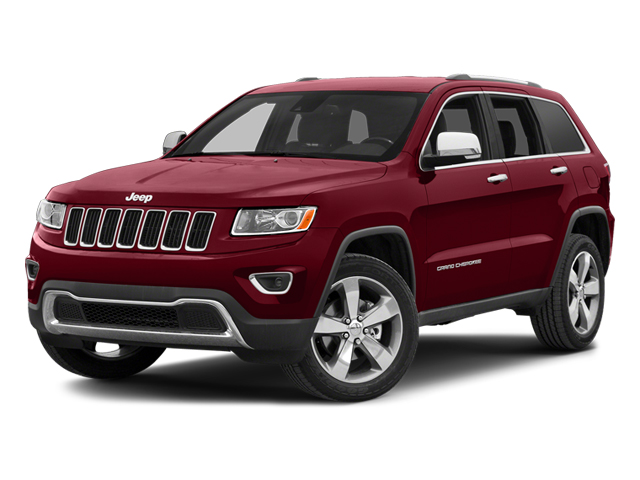 Deep Cherry Red Crystal 2014 Jeep Grand Cherokee LIMITED SUV Raleigh NC