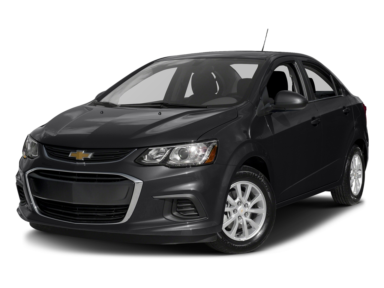 Red 2017 Chevrolet Sonic LT 4dr Car Wake Forest NC