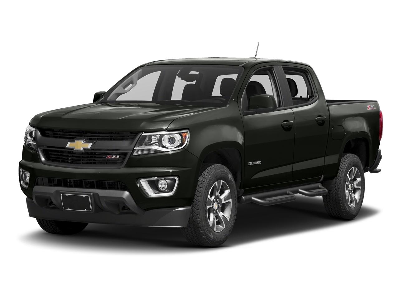Graphite Metallic 2017 Chevrolet Colorado Z71 Crew Cab Pickup Wake Forest NC