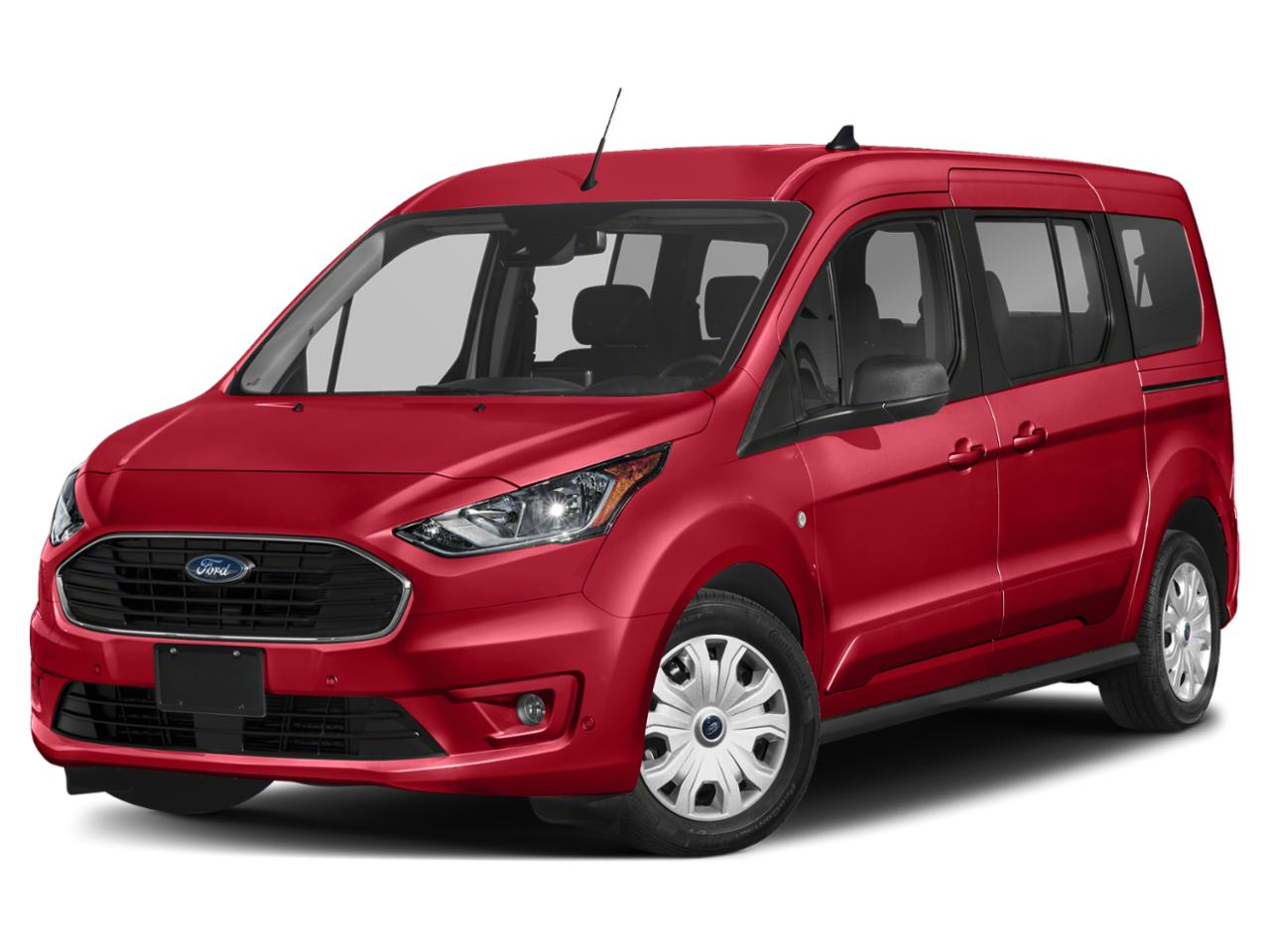 Race Red 2020 Ford Transit Connect XL Van Raleigh NC
