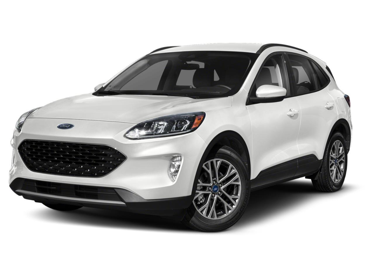 Oxford White 2020 Ford Escape SEL SUV Raleigh NC