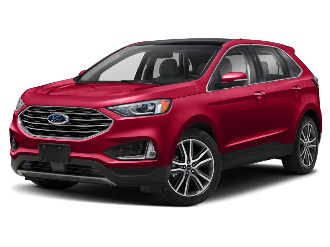 Rapid Red Metallic Tinted Clearcoat 2020 Ford Edge SEL SUV Hialeah FL