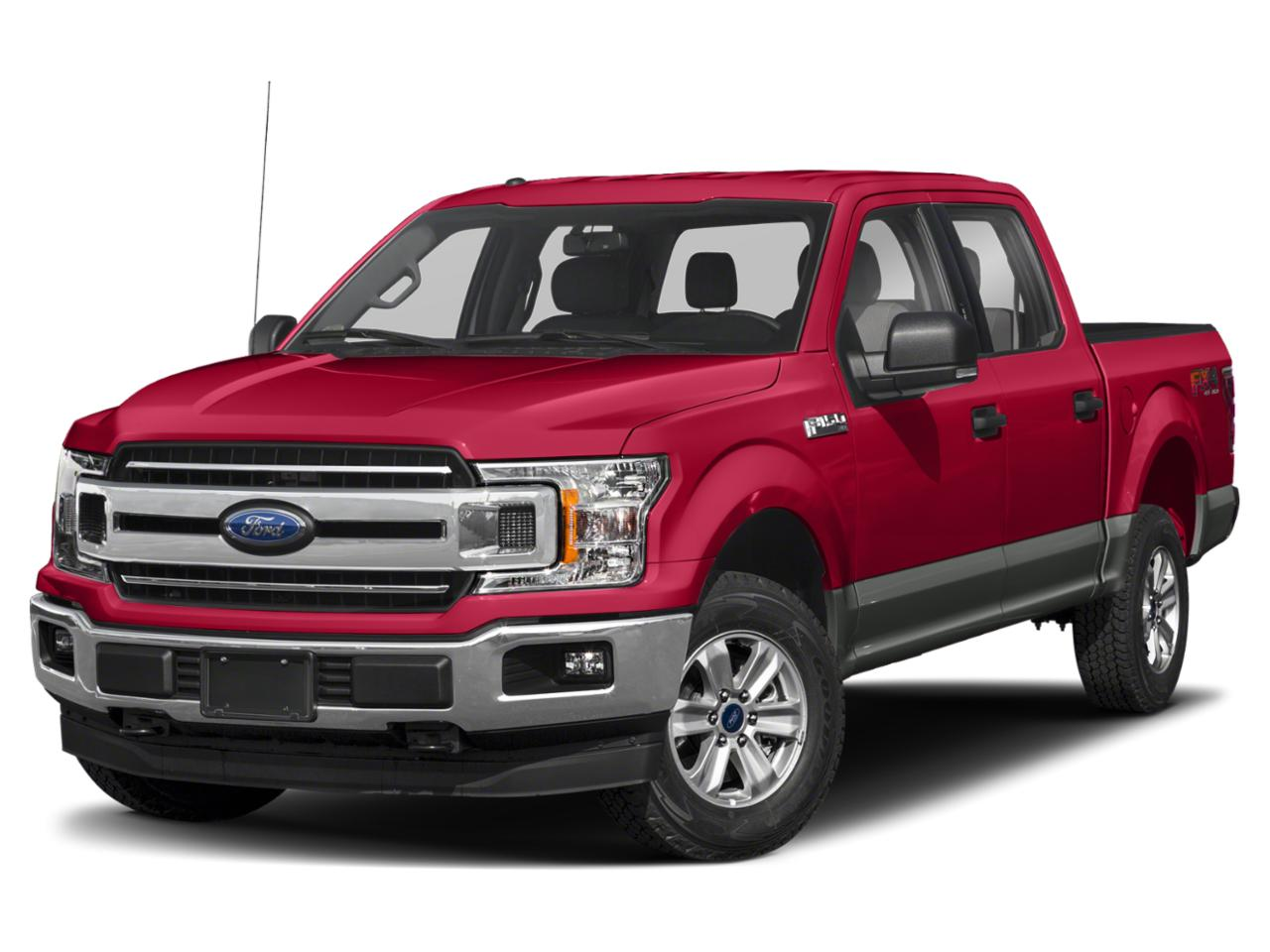 Rapid Red Metallic Tinted Clearcoat 2020 Ford F-150 XLT Crew Cab Pickup Durham NC