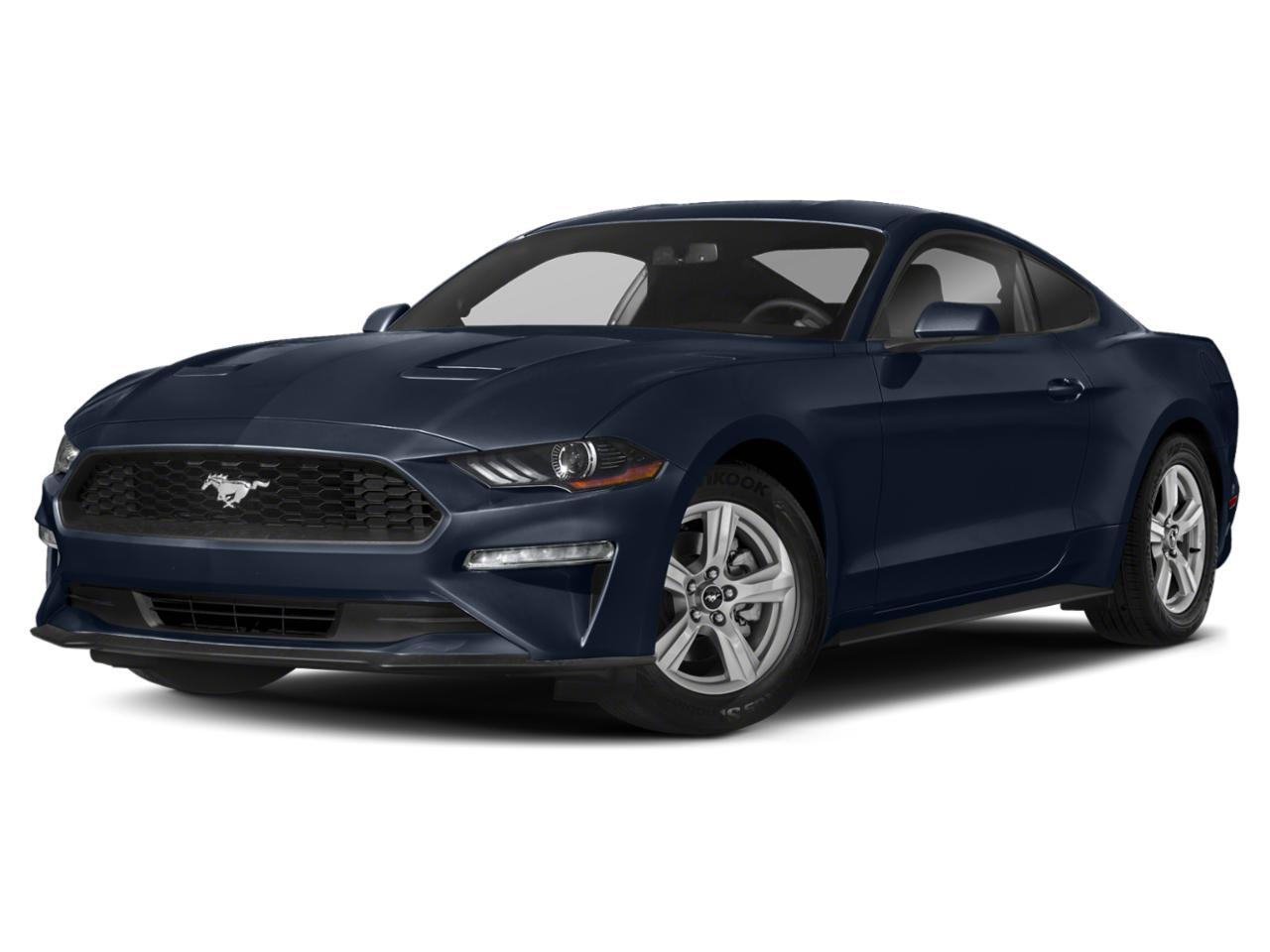 Kona Blue Metallic 2020 Ford Mustang ECOBOOST 2dr Car Winston-Salem NC