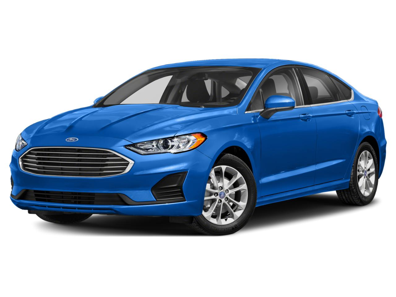 Alto Blue Metallic Tinted Clearcoat 2020 Ford Fusion SE 4dr Car Durham NC