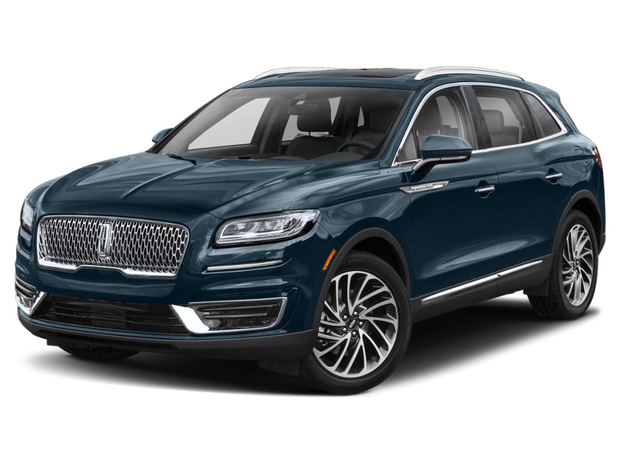 2019 Lincoln Nautilus SELECT 4D Sport Utility Slide
