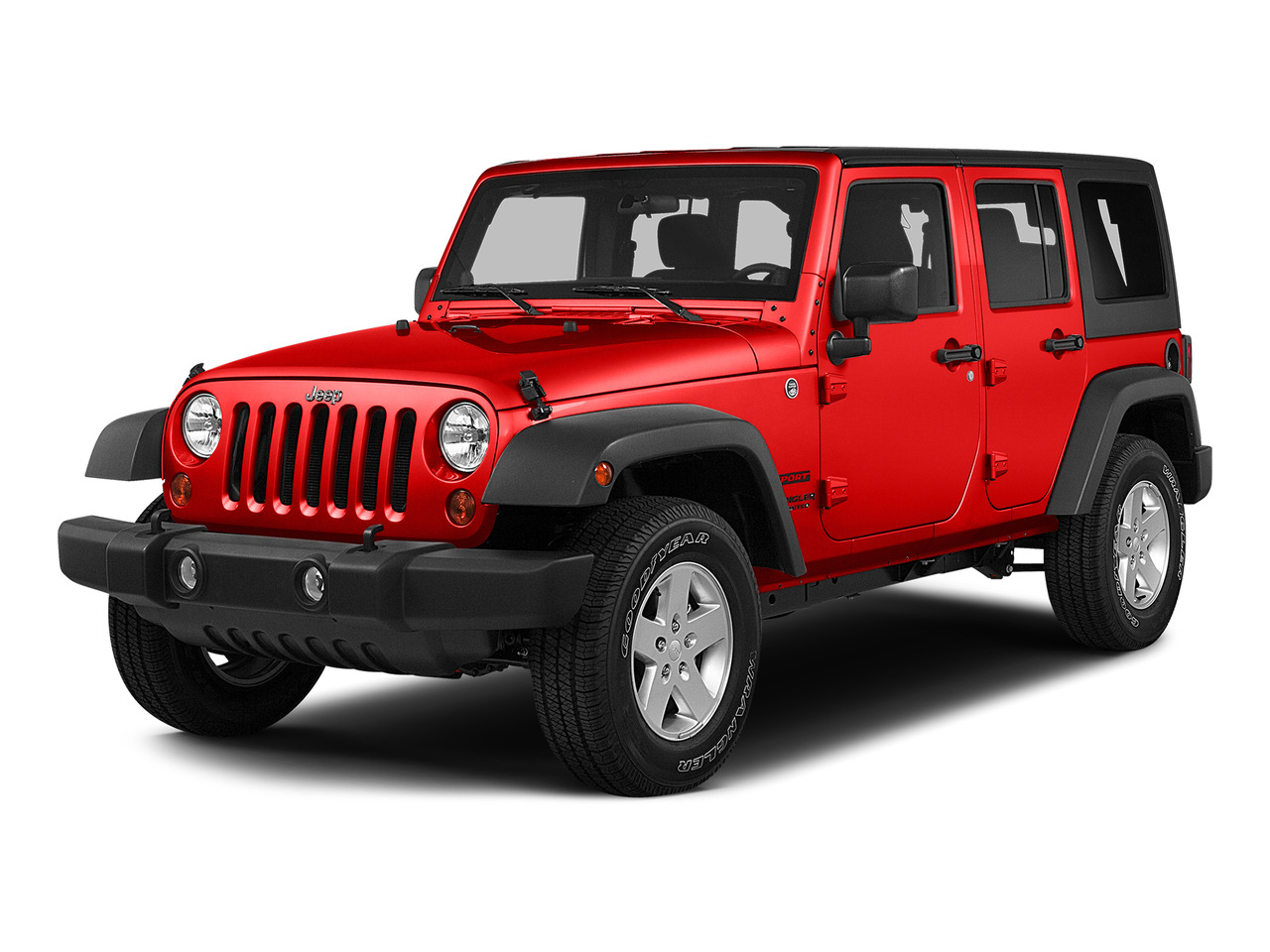Firecracker Red Clear Coat 2015 Jeep Wrangler Unlimited 4WD 4dr Rubicon Jacksonville NC
