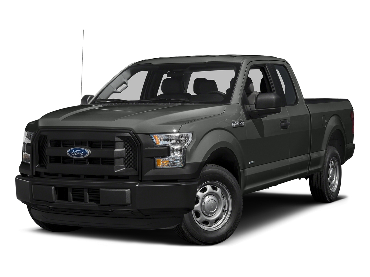 Gray 2015 Ford F-150 XL 4x4 XL 4dr SuperCab 6.5 ft. SB New Bern NC