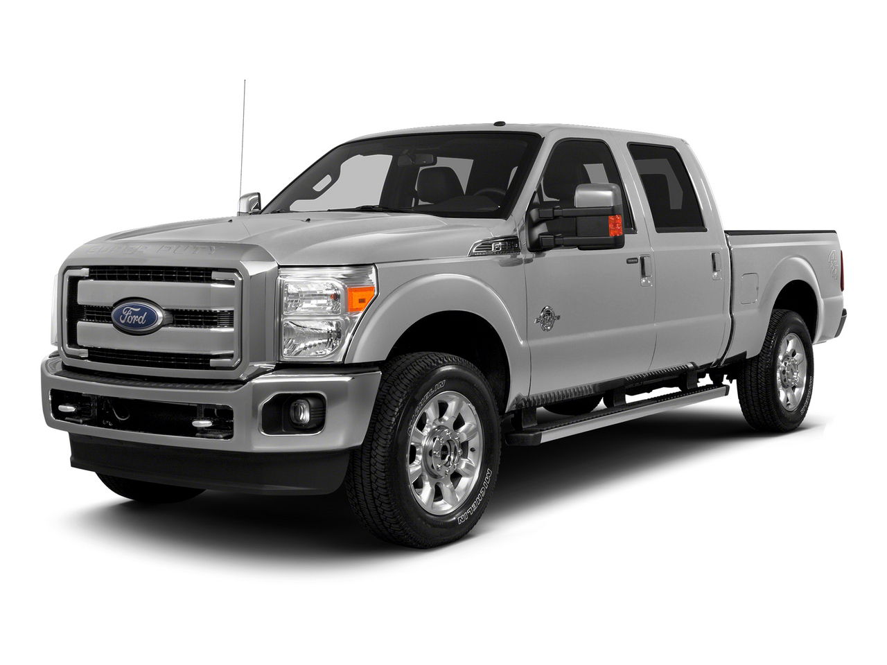 Ingot Silver Metallic 2015 Ford F-250SD  Crew Pickup Lexington NC