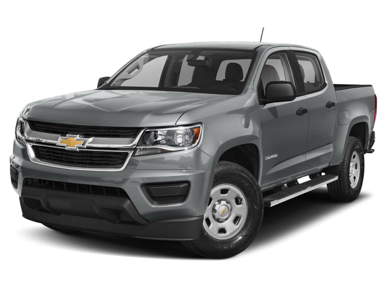satin steel metallic 2020 Chevrolet Colorado LT Crew Cab Pickup Lexington NC
