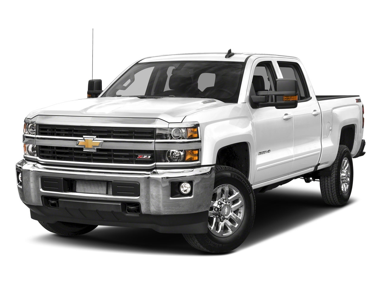 Summit White 2018 Chevrolet Silverado 2500HD LT Crew Cab Pickup Wake Forest NC