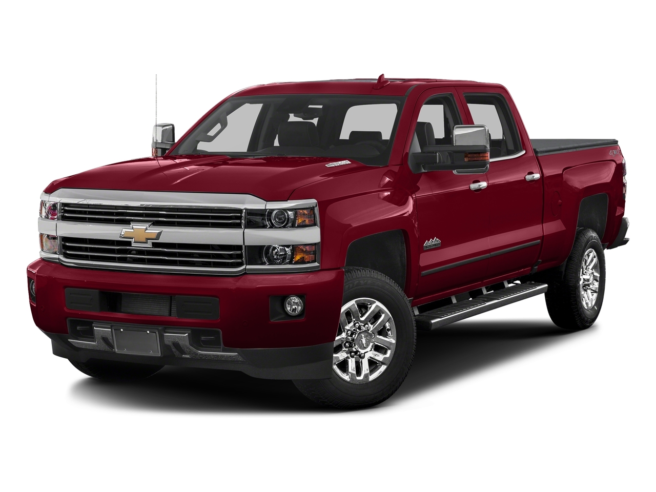 Red Tintcoat 2018 Chevrolet Silverado 3500HD HIGH COUNTRY Crew Cab Pickup Lexington NC