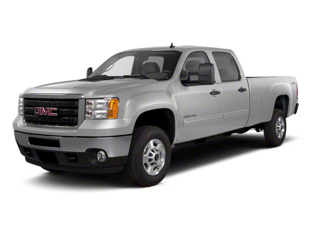 Pure Silver Metallic 2011 GMC Sierra 2500HD SLE Crew Cab Pickup Lexington NC
