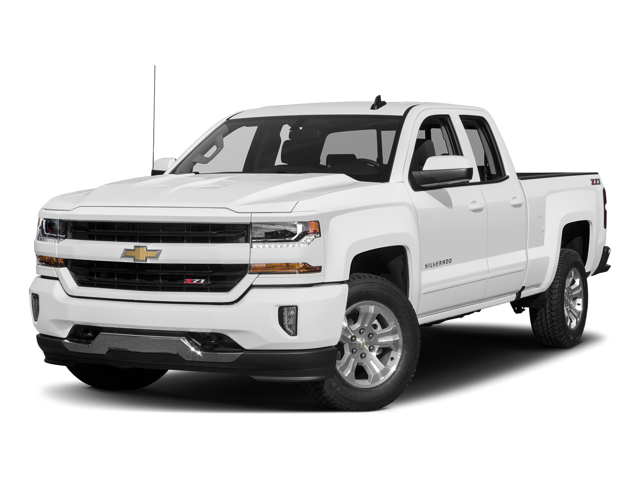 "2016 Chevrolet Silverado 1500 4WD DOUBLE CAB 143.5"" LT W/1LT Extended Cab Pickup Slide"