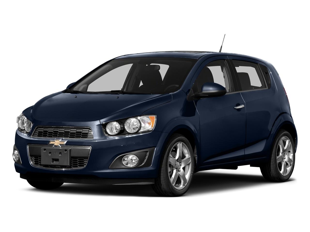 blue velvet metallic 2016 Chevrolet Sonic LT Hatchback Wake Forest NC