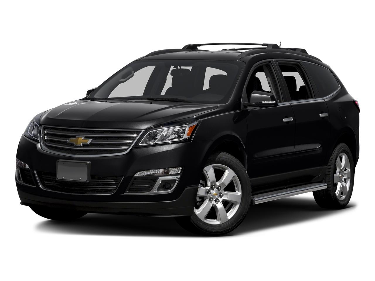 Black Metallic 2016 Chevrolet Traverse LT SUV Lexington NC
