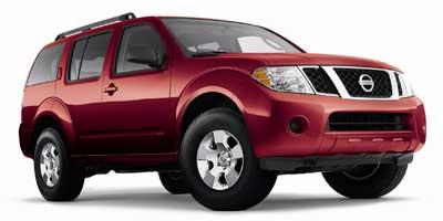 2009 Nissan Pathfinder S SUV Slide