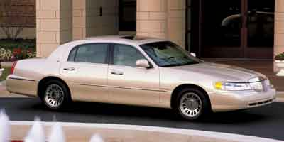 2002 Lincoln Town Car Cartier  for Sale  - P5769A2  - Astro Auto