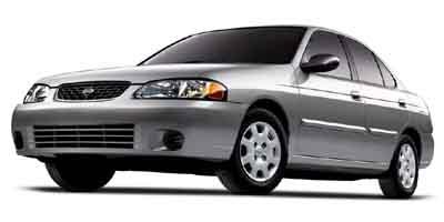 2002 Nissan Sentra  4dr Car Slide