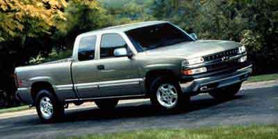 2000 Chevrolet Silverado 1500 LS 4WD Extended Cab  - 101093