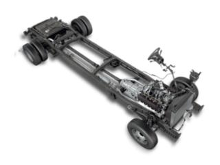 Lease 2019 E-Series Stripped Chassis E-350 138