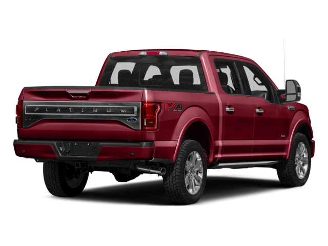 "2016 Ford F-150 2WD SuperCrew 145"" Platinum"