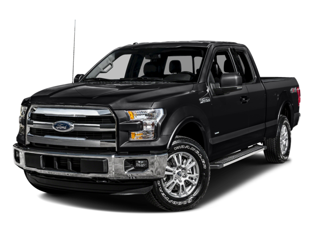 "2016 Ford F-150 4WD SuperCab 163"" Lariat"