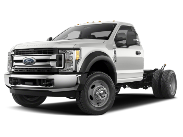 "2019 Ford Super Duty F-550 DRW XL 2WD Reg Cab 145"" WB 60"" CA"