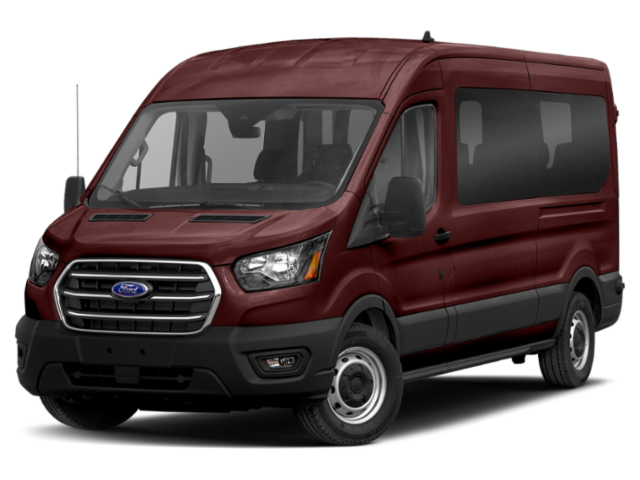 "2021 Ford Transit Passenger Wagon T-150 130"" Med Roof XL RWD"