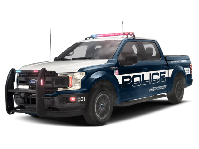 2018 Ford F-150 Police Responder XL 4WD SuperCrew 5.5' Box